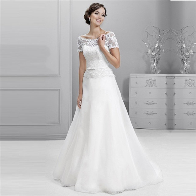 Einfache Country Western Berta Braut Bohemian Brautkleid Kleid 2015 ...