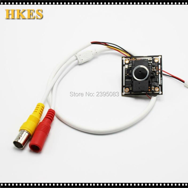 HKES 4pcs/lot New Product Mini AHD Video Camera module with 3.7 mm lens