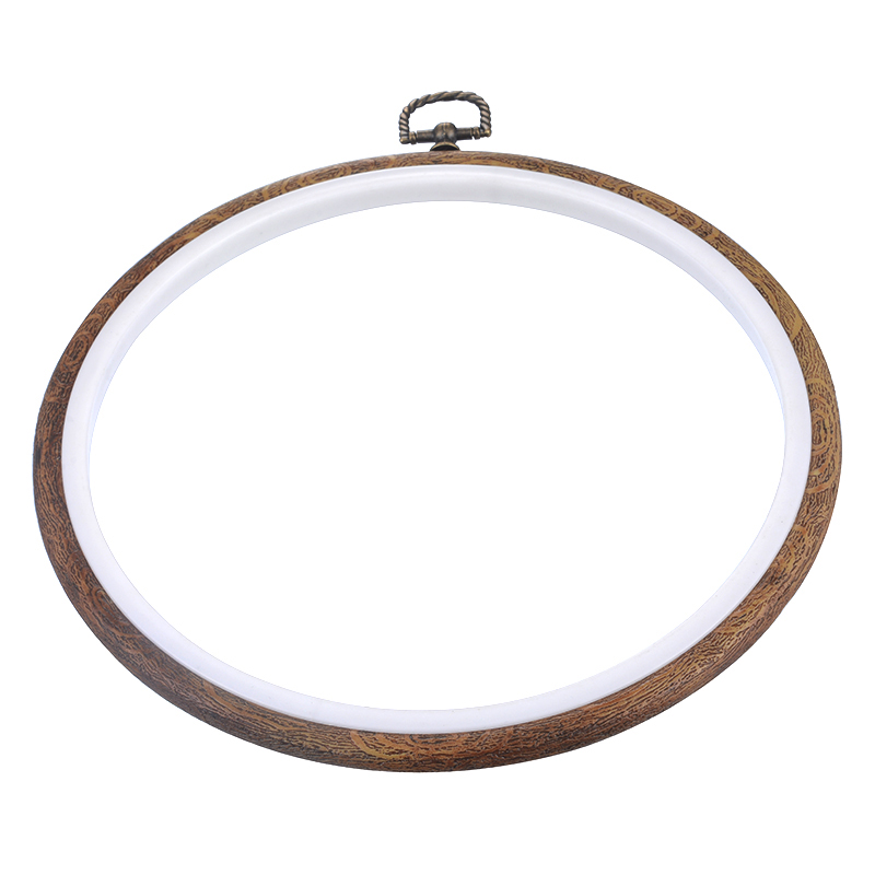 urijk 1pc 15cm plastic detachable embroidery cross stitch frame hoop graining diy needlecrafts household sewing tools