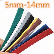1 метр 2:1 9 цветов 5 мм 6 мм 7 мм 8 мм 9 мм 10 мм 11 мм 12 мм 13 мм 14 мм термоусадочные Термоусадочные трубки провода Прямая поставка