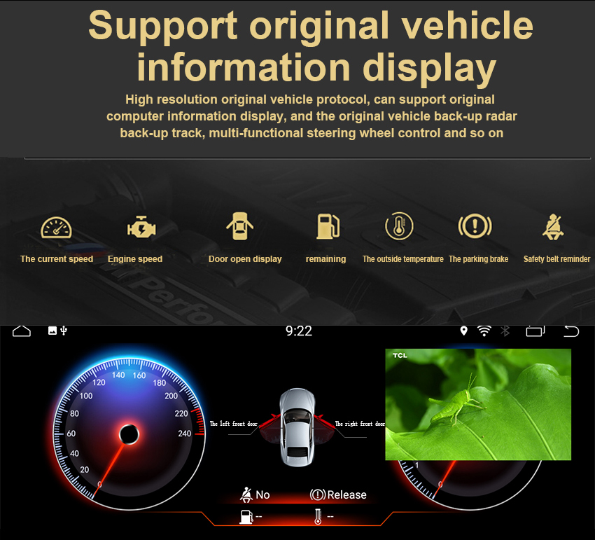 10 Koason Android7.1 2+32G Car Stereo Audio touchscreen Multimedia Player GPS Navigation system for BMW E90 2005-2012