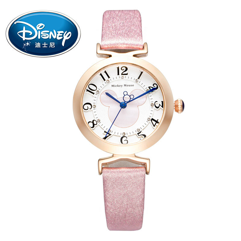 Disney Kids Watch Women Watch Fashion Cute Wristwatches women watch Boys Mickey Mouse Gift Clock