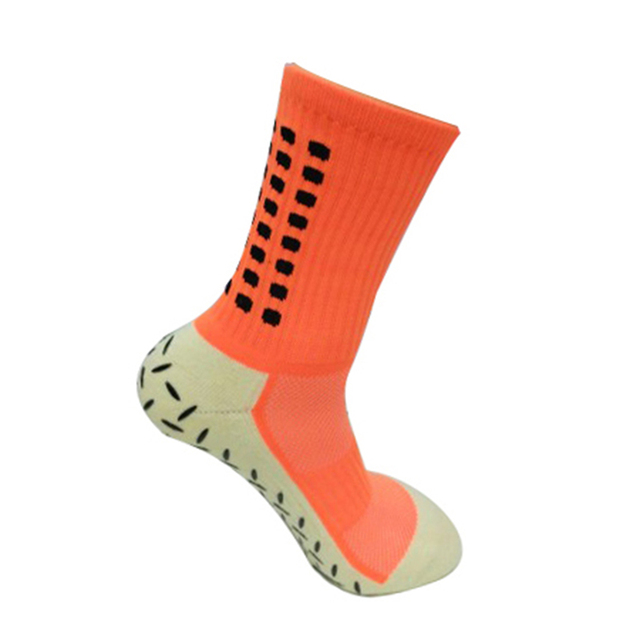 Colorful Cotton Soccer Socks with Antislip Layer