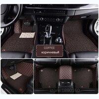 Custom Car Floor Mats For Cadillac SLS ATSL CTS XTS SRX CT6 XT5 ATS Escalade Auto