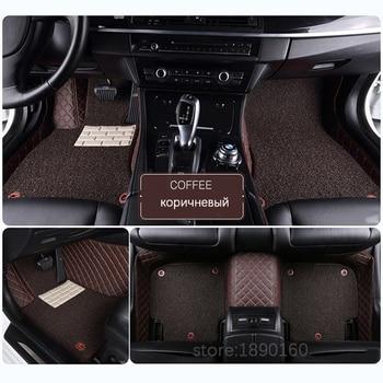 Custom car floor mats for Cadillac SLS ATSL CTS XTS SRX CT6 XT5 ATS Escalade auto accessories car styling car mats