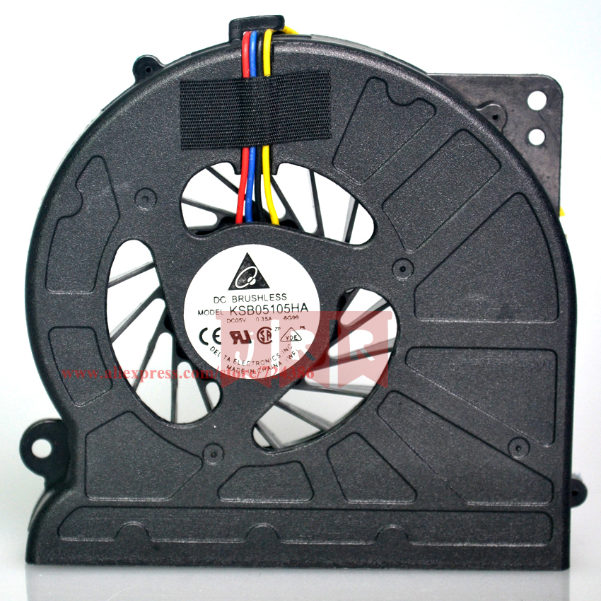 New Laptop cpu cooling fan for Asus N61 N61J N61V N61JV N61JQ K52 K52F A52F A52JK A52 laptop cpu fan cooler, KSB06105HB-9J73 laptop cooling fan for asus pu500ca fan