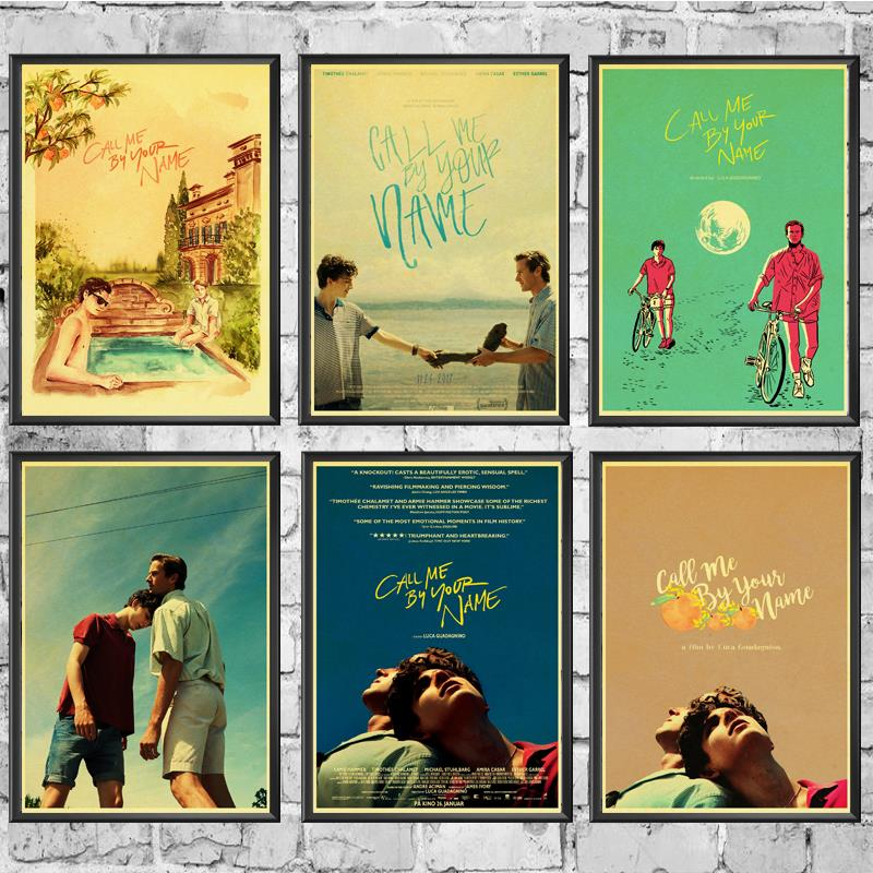 Retro Poster Winning-Film Name-Painting Wall-Decor Kraft-Paper For Home-Bar Award Your