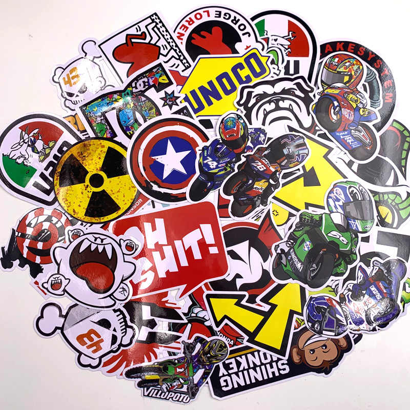 40Pcs Cartoon Stickers Voor Auto Styling Bike Motorcycle Telefoon Skateboard Grappig Super Hero Films Graffiti Skateboard Sticker