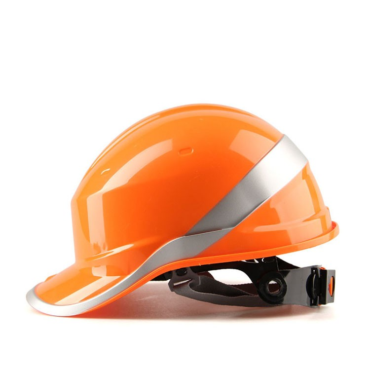 Safety Helmet Hard Hat Work Cap ABS Insulation Material With Phosphor Stripe Construction Site Insulating Protect Helmets 102018 (4)