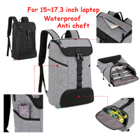 2016 New Laptop Backpack 15 15 4 15 6 Inch Travel School Bag With Anti Cheft