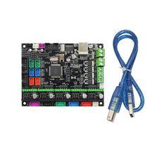 12/24V MKS Gen L V1.0 Integrated Ramps 1.4 Control Board Controller Motherboard for 3D Printer Parts Accessories 3d printer motherboard kit mks gen l 12864 rgb v1 1 lcd display for cnc ramps cheetah f6 vs mini12864