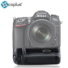 Mcoplus bg-d7100 multifunción d7200 d7100 vertical holder battery grip para nikon dslr cámara como mb-d15 meike mk-d7100