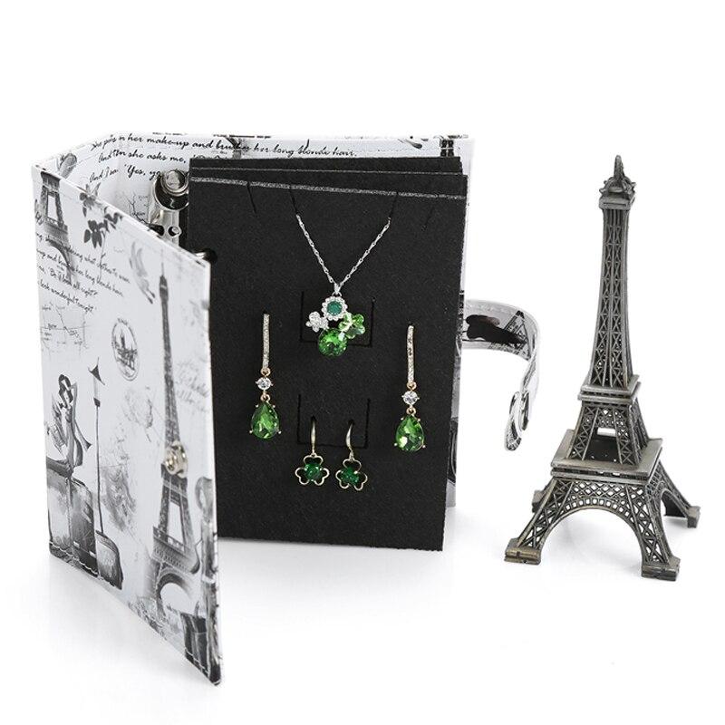 Earrings Carrying Book Jewelry Organizer Creative Earring Storage