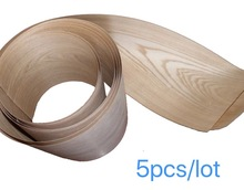 5Pieces/Lot Length: 2 Meters  Thickness:0.25mm Width: 15cm Wood Ash Veneer Speaker Leather Hand Solid Furniture