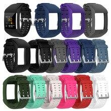 Смарт-часы ремешок Высокое качество удобные силиконовые замена часы ремешок для полярных M600 браслет для смарт-часов на
