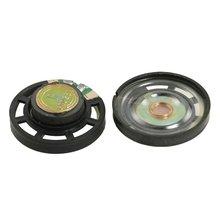 PLA Quente Tipo Rodada de Plástico Shell Falante Magnético Externo 2 8 Ohm 0.25 w pcs