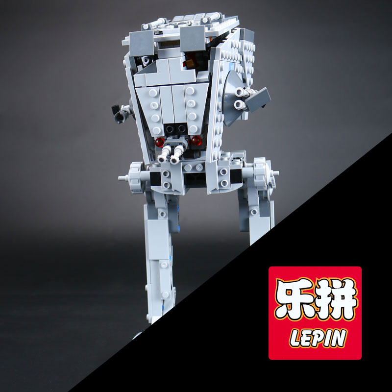 Lepin 05066 471Pcs Star Series War The Rogue One  AT set ST Walker Educational Building Blocks Bricks Gifts Toys with 75153 gonlei figures rogue one k 2so death trooper sergeant jyn erso figure toys building blocks christmas gifts lepin