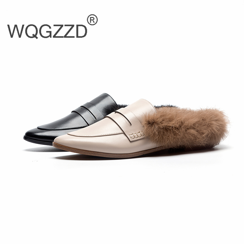 65a3456b845f New-winter-flat-loafers-women-s-shoes-cow-leather-Rabbit-hair-mules-shoes -women-s-loafers.jpg