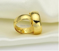 1pcs Authentic 999 Solid 24k Yellow Gold Ring/ Unisex Smooth Ring Band 8.05g Can adjustable size