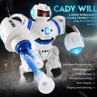 JJRC R3 Infrared Control Programmable Combat Defender Intelligent RC Robot Humanoid Robot Children Gifts