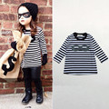 baby girl t shirt striped kids clothes nununu toddler boys clothing children t shirts kid tees Roupa infantil meninos Camisetas