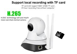 Image 4 - Mini caméra de Surveillance IP Wifi hd 1080P, dispositif de sécurité domestique sans fil, avec Vision nocturne, codec H.265, application ICSEE