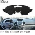 Para ford ecosport 2013 2014 2015 2016 mat painel almofada de Proteção Sombra Almofada Photophobism Pad carro styling acessórios
