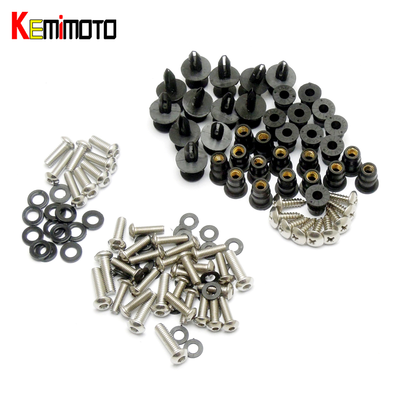 KEMiMOTO ZX10R Motorcycle Complete Fairing Bolts For Kawasaki Ninja ZX-10R ZX10R 2008 2009 2010 летние шины triangle 175 65 r14 86h te301