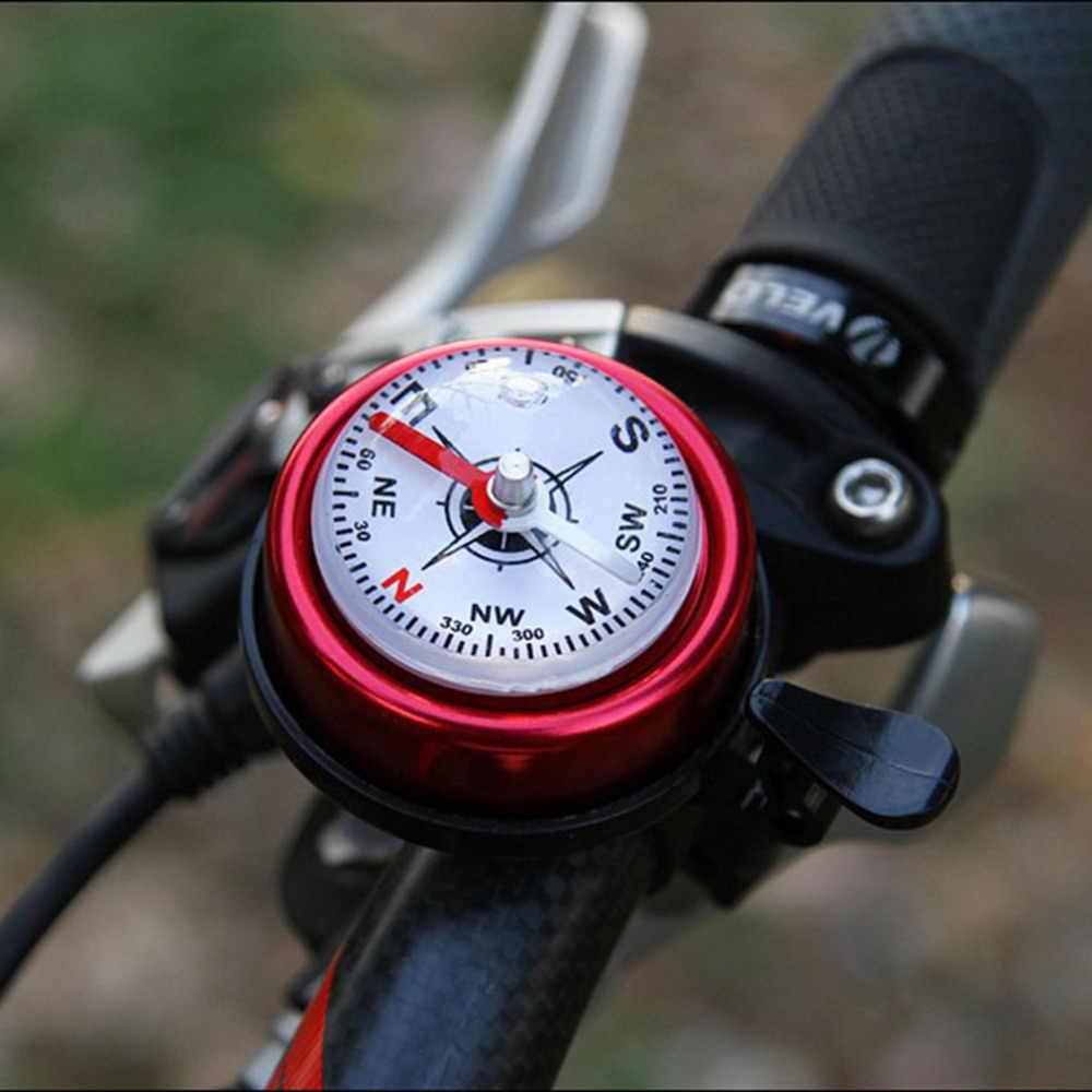 アルミ合金自転車サイクリングコンパスバイクハンドルコンパスベル安全ベルリング自転車ガイドベル卸売