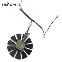 87mm T129215SU DC 12V 0 50A 6Pin Cooling Fan Replace For ASUS Strix GTX 980TI 1060