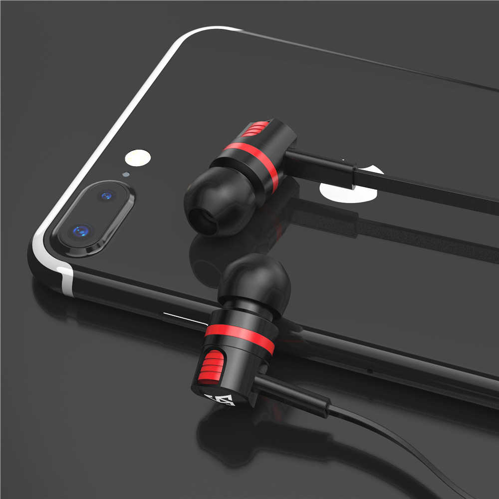 163416571ee Musttrue Professional Earphone Super Bass Headset with Microphone Stereo  Earbuds for Mobile Phone Samsung Xiaomi fone de ouvido