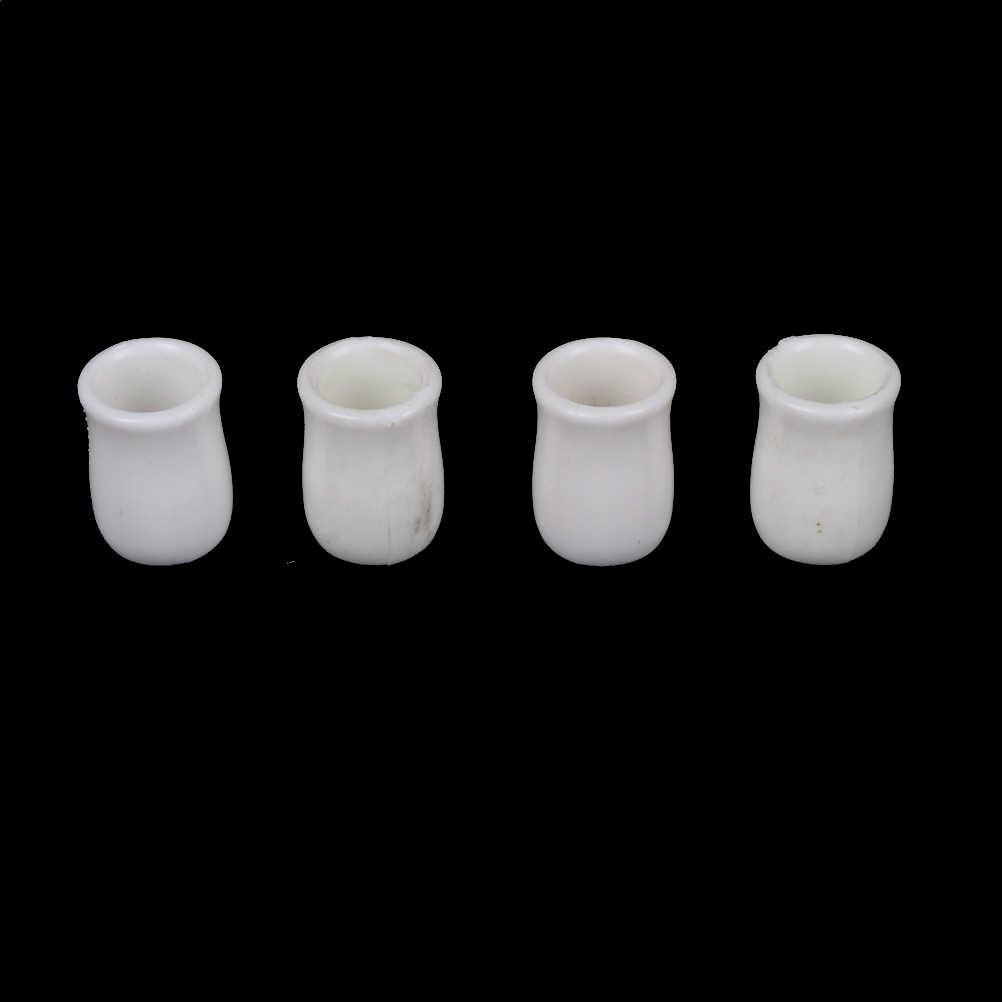 1:12 Casa De Bonecas de Resina Mini Mini Limão Xícara de Água/Suco De Laranja/Café/Chá Bebida Copo Acessórios de casa de Bonecas Em Miniatura Copos Presentes do Brinquedo