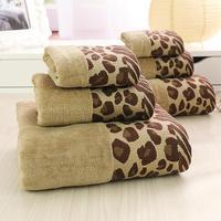LYN&GY 2018 luxury Plaid Brand 100% Cotton Bath Towel Serviette de bain Adulte Embroidery Large Bathroom Towel 70x140cm 3 PCS