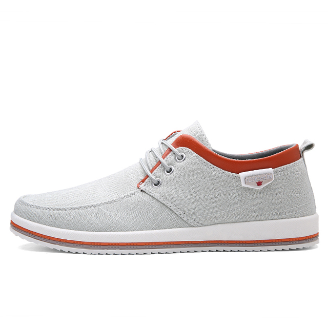 ZUNYU New Arrival Spring Summer Comfortable Casual Shoes Mens Canvas Shoes For Men Lace-Up Brand Fashion Flat Loafers Shoe 1