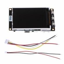 Esp32 placa de tela lcd para btc preço ticker programa 4 mb spi flash 4 mb psram dropship