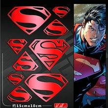 PowerAngel DIY 3D Metal Sticker Batman v Superman Dawn of Justice Phone Laptop Car Waterproof Decal