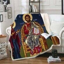 Мода Звездные войны живописный рисунок с 3D плюшевый, с принтом одеяло для кроватей теплое мягкое покрывало шерпа плед из овечьей шерсти