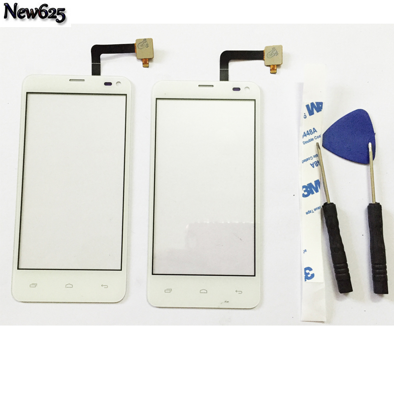4.3  Tested Mobile Phone Touch Panel For Fly IQ4416 ERA Life 5 IQ 4416 Touch Screen Front Glass Digitizer Sensor Touchscreen