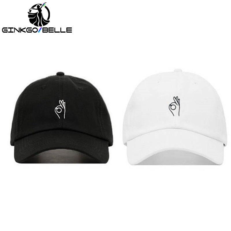 059663ff720ec 2pcs set A OK Baseball Hat