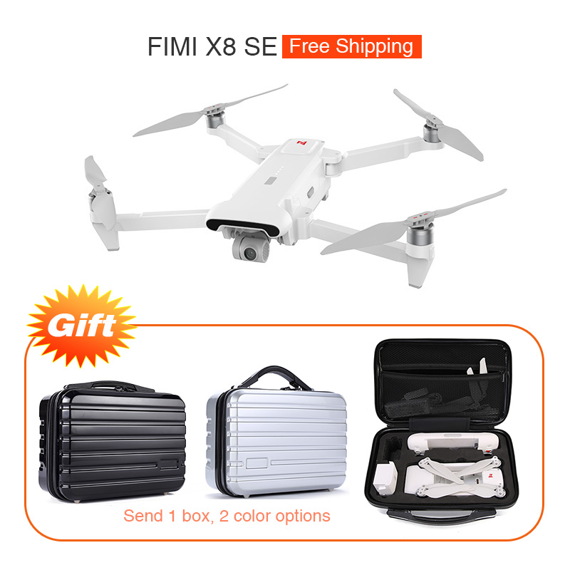 Gimbal Quadcopter Camera Rc Drone Flight-Time Fimi X8 4K with Box Gift SE 5KM FPV GPS