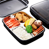 Keelorn 800ML 304 Stainless Steel PP Heat Sealed Leakproof Lunch Boxes Environmentally Friendly Convenient Lunch Box