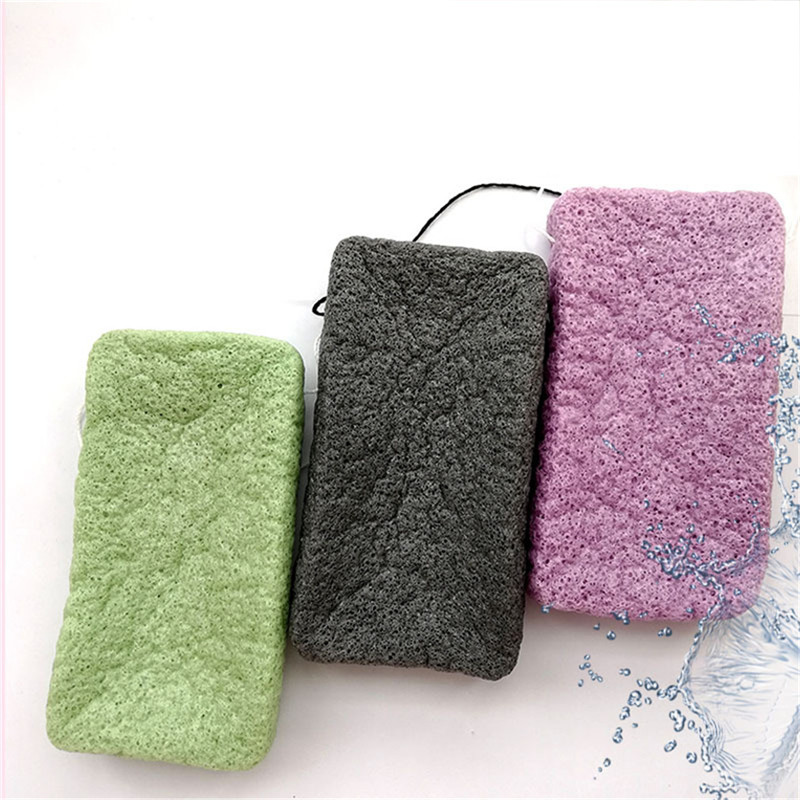 A Variety Of Colors Optional Shower Gel Sponge Organic Mild Soft 2020 Hot Sale Shower Gel Wash Skin Care Tools Cleaning Puff