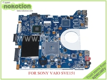 laptop motherboard for SONY VAIO SVE15 V170 Main board 1P-0123200-6012 REV 1.2 MBX-270 A1875361A HM76 GMA HD4000 DDR3