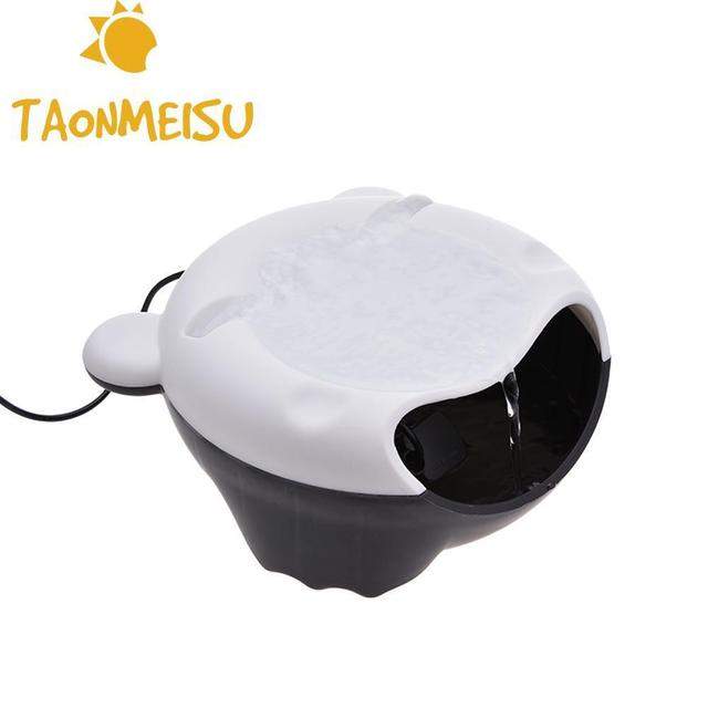 Hot sale Automatic Cat Dog Oxygen Drinking Fountain Electric bowl Pet Circulating Drinking Water Dispenser Feeder with Light