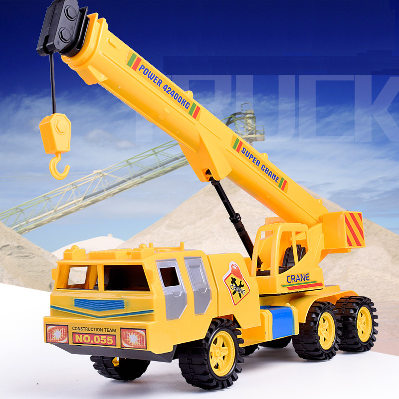Simulated Vehicles Children's Toys Inertia Engineering Crane Plastic Toys Beach toy Christmas gifts for Kids Xmas