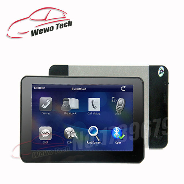 """5"""" Car GPS Navigator Bluetooth AV-IN 800MHZ 128M Wince6.0 2015 Freeshipping Maps for Russia/ Europe/USA Auto Gps Navigation"""