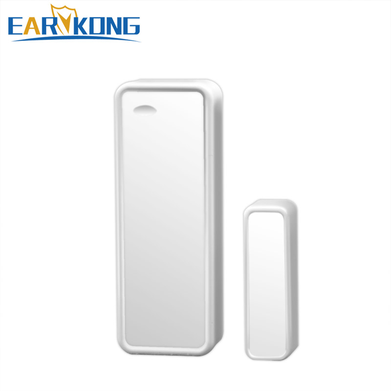 Wireless Intelligent Door / Window Sensor Contact For G90B Wifi GSM Alarm System 433MHZ, Door Open And Close Detector, free shipping 1pc industrial use 400a dc ac solid state relay quality dc ac mgr h3400z 400a mager ssr