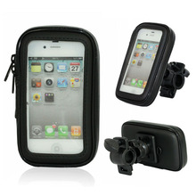 цена на 360 Degree Rotate Waterproof Weather Resistant Bike Mount Bag For iPhone 4 & 4S