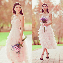 pink tulle short bridesmaid dresses for weddings 2015 hot Sexy sweetheart tiered evening party prom gowns vestidos para festa 2015 new sweetheart long bridesmaid dresses for weddings womans chiffon sexy evening party gown vestidos para festa madrinha