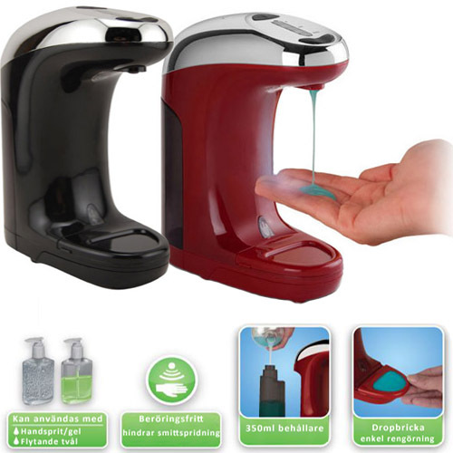 New Arrival Automatic Soap Dispenser Infrared Touchless Hand Free Motion Activated Liquid Sanitizer In Dispensers From